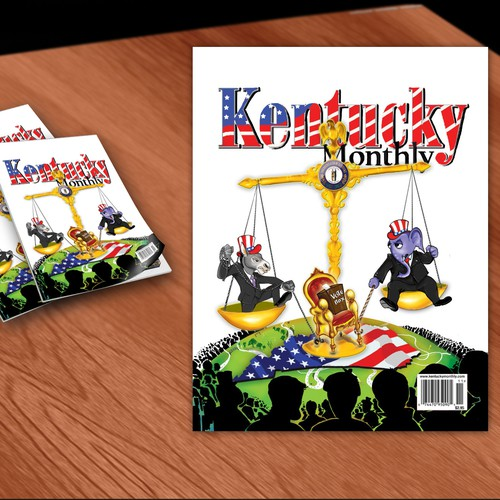 New Illustration needed for cover of Kentucky Monthly magazine