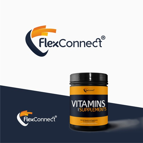 Modern Logo For Flex Connect