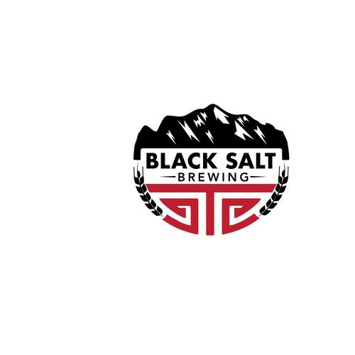 Logo for Black Salt Brewing