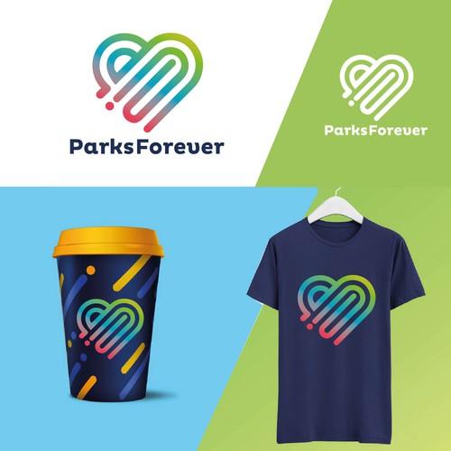 Parks Foreverlogo design