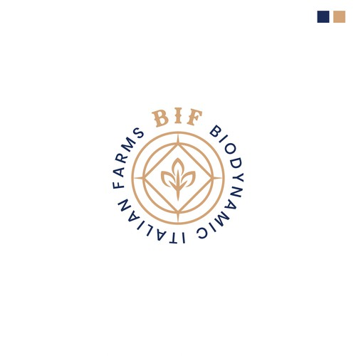 Logo design for Biodynamic Italian Farms
