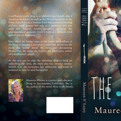 Print Book Cover Design Contest - The Arrow