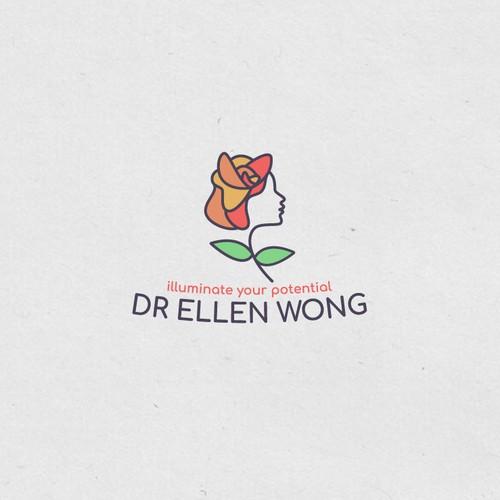 Women silhouette logo