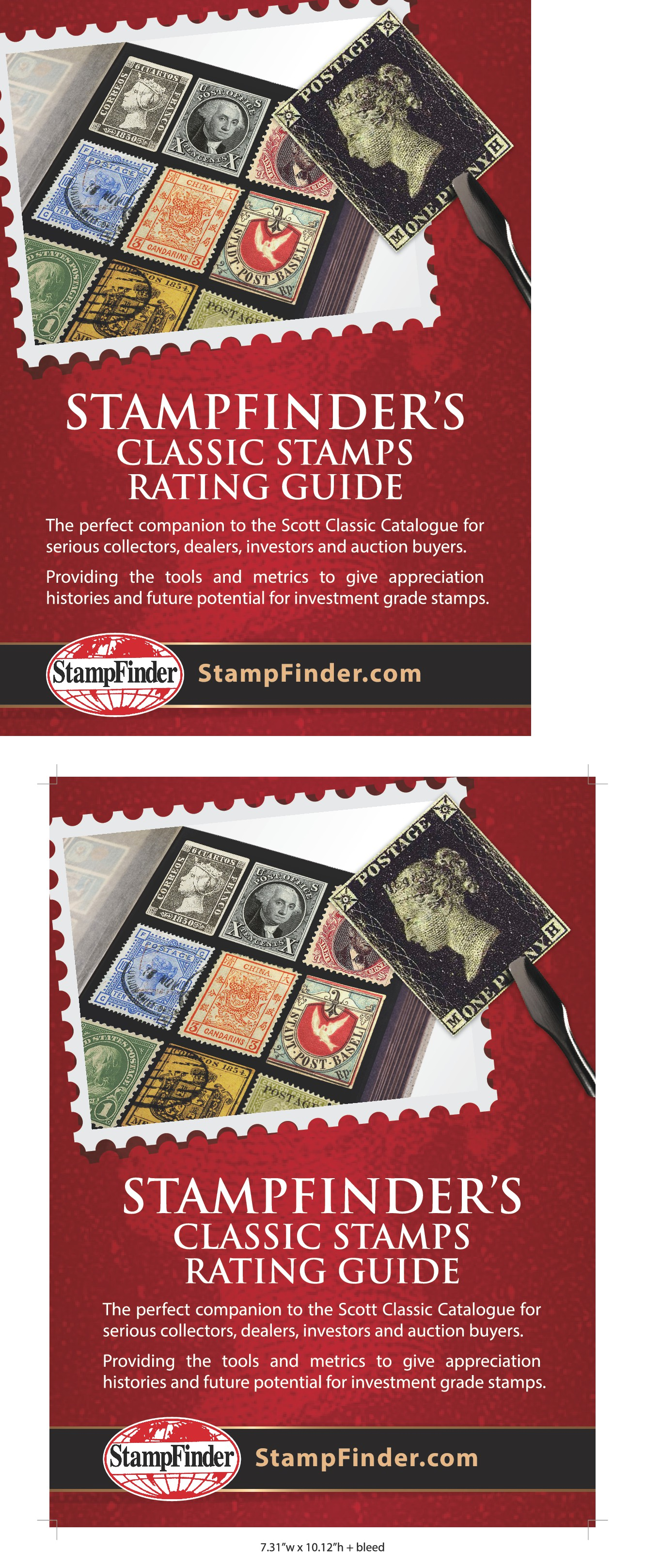 StampFinder needs a full page ad.