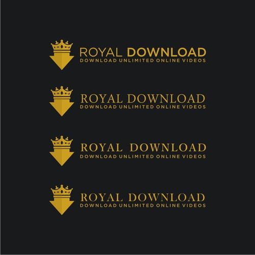 https://99designs.com/logo-design/contests/royaldownload-create-soft-elegant-luxurious-logo-online-video-859447/entries