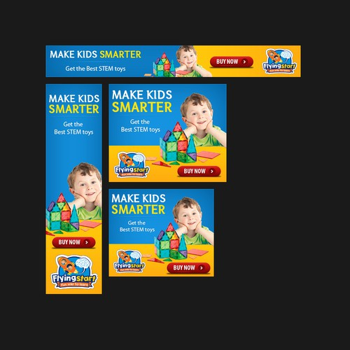 Design a creative banner for Fun & Learning toys