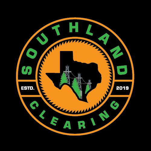 Clever logo proposal for SOUTHLAND CLEARING.