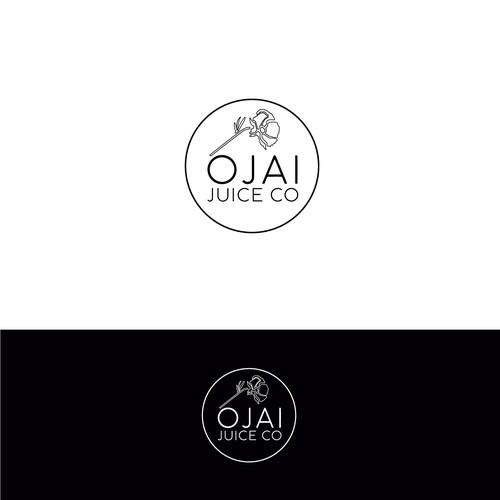 Logo for organic juice company