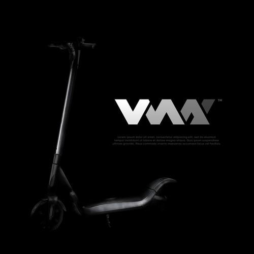 A minimalistic logo for an e-scooter company