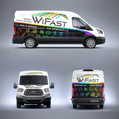 Van Wrap Design for WiFast