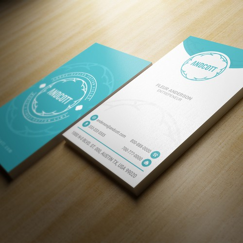 Andcott branding project