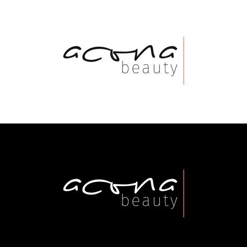 Logo Design acona beauty