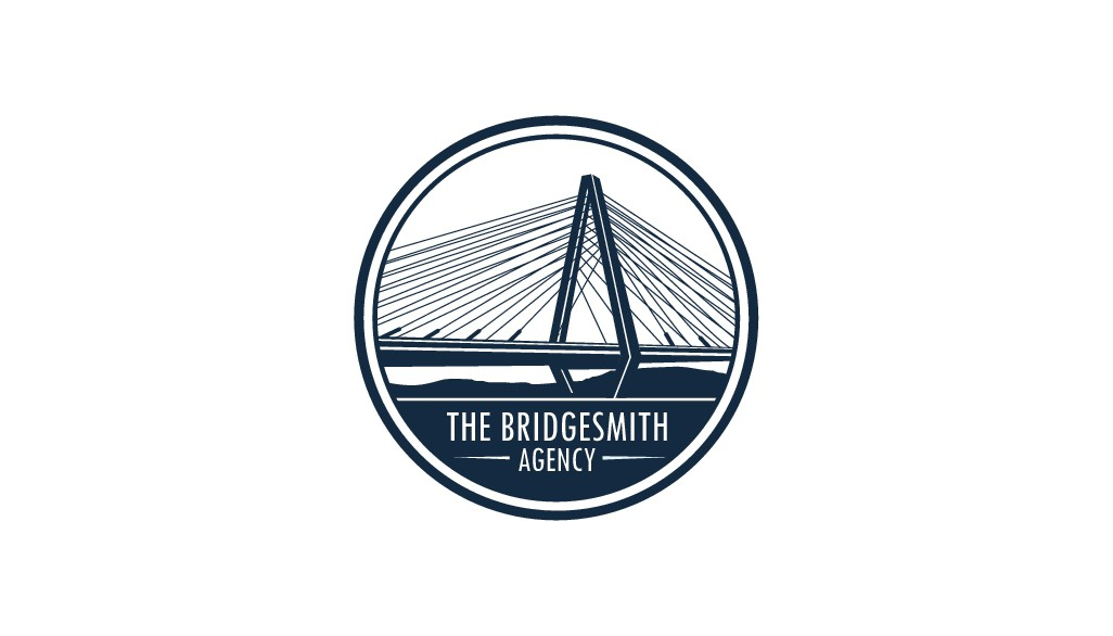 Create a modern, sophisticated brand identity for The Bridgesmith Agency