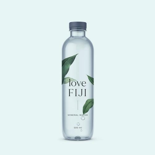 minimalist water bottle design