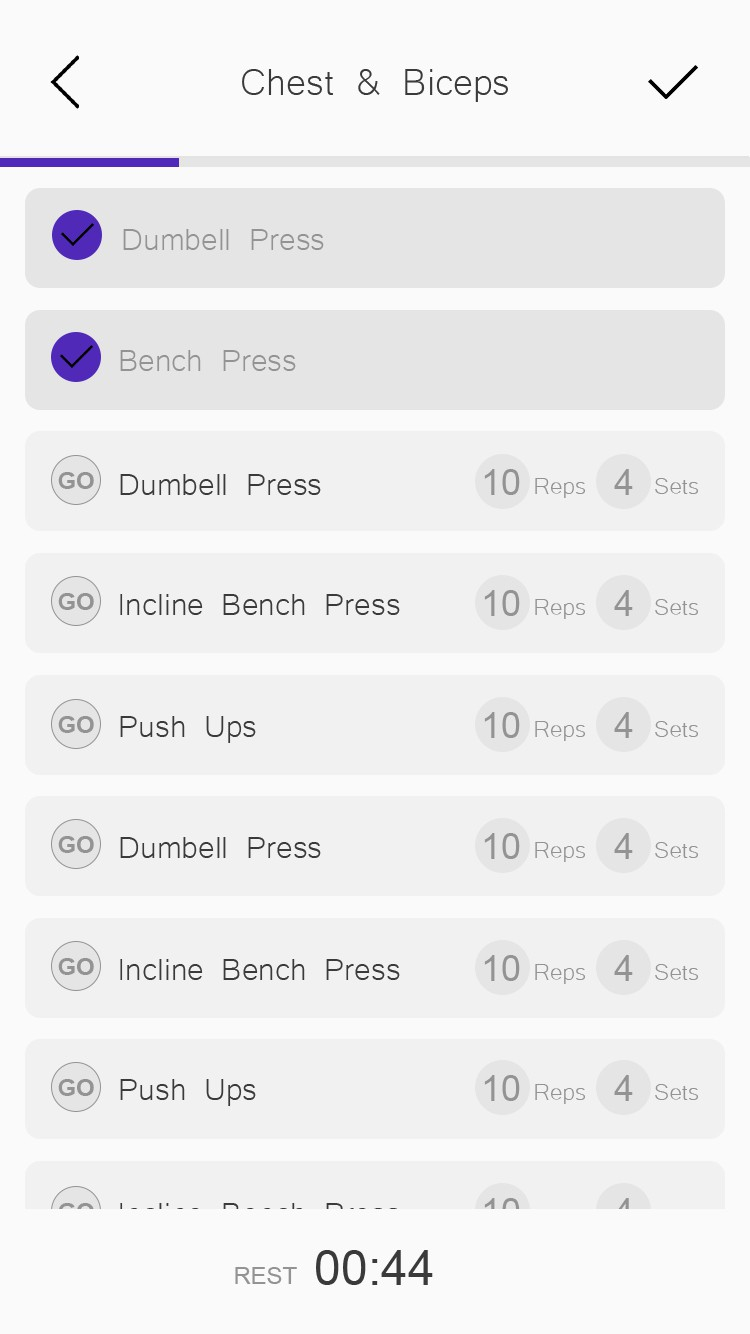 Create a remote fitness app: train at your best no matter where you are.