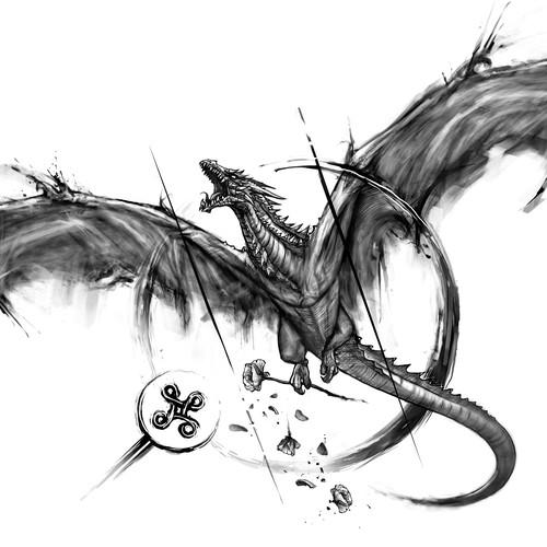 tattoo dragón