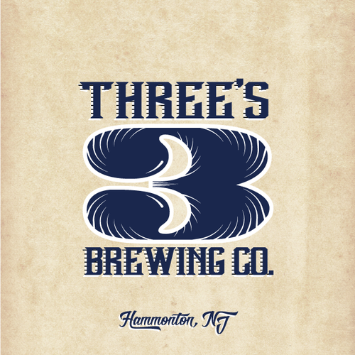 Modern yet Classic  Craft Brewery Logo  to be used on bottles and signage