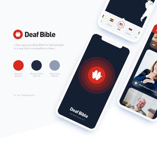 iOS App Design for Deaf People