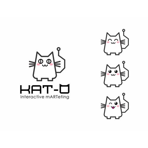 Mascot and Logo design for an interactive marketing/tech company :)