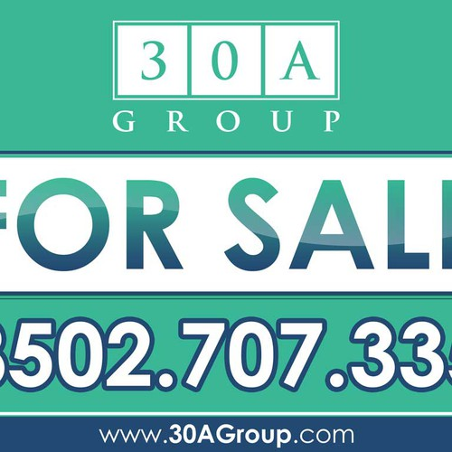 Create the next signage for 30A Group