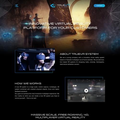 Virtual Reality Platform Website