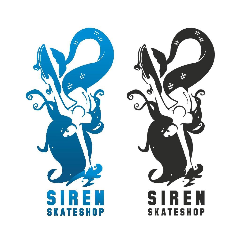 Skateboarding Mermaid?