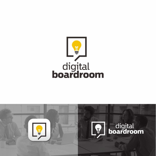 Logo for a boardroom/meeting app