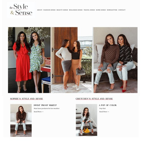 Website - Blogger and Influencers