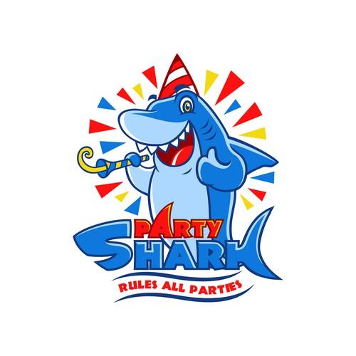 PartyShark needs a new logo