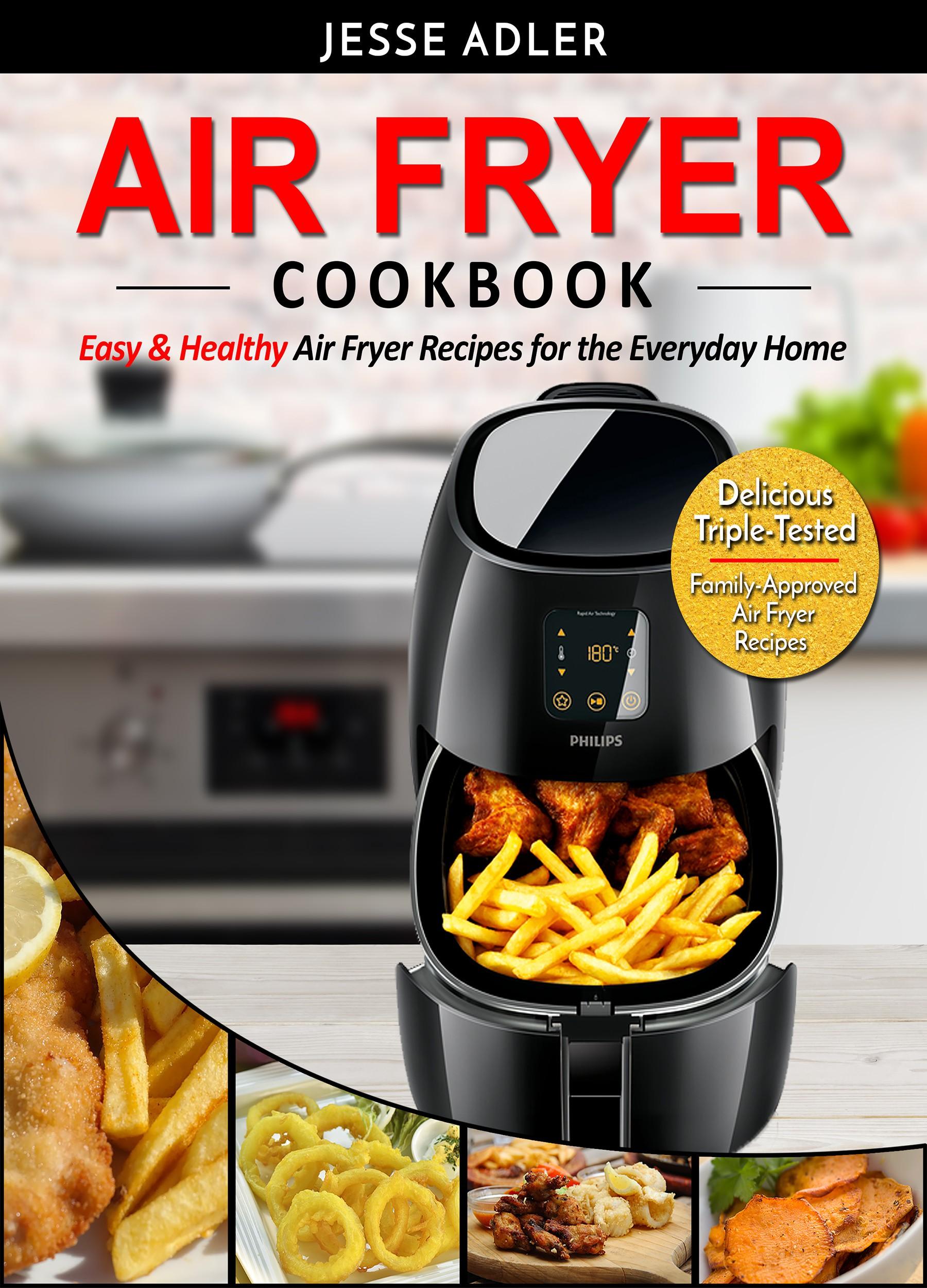 Air Fryer Cookbook - Book Cover!