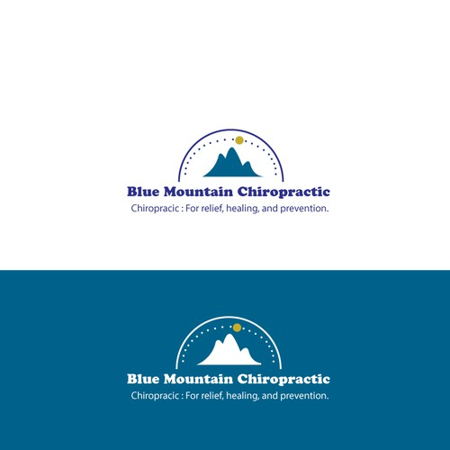 Blue Mountain Chiropractic needs a new logo