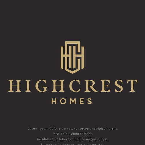 Logo for High Crest Homes