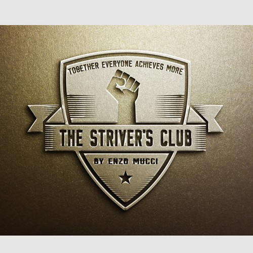 Hello! We need a Powerful Logo Design for The Striver's Club