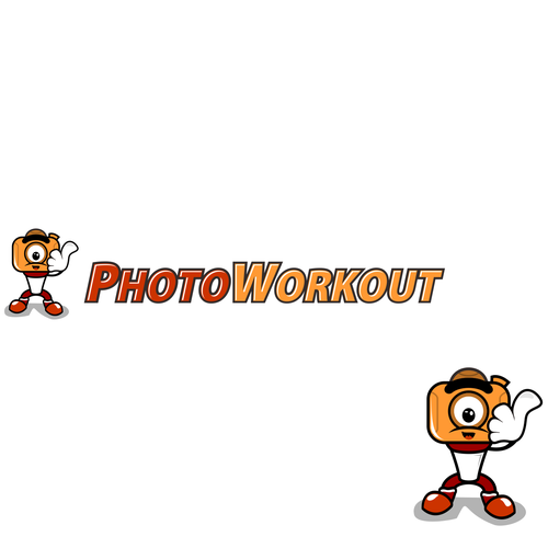 logo character for photoworkout