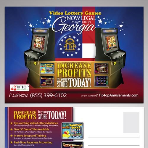 Create a creative direct mailer for TipTop Amusements
