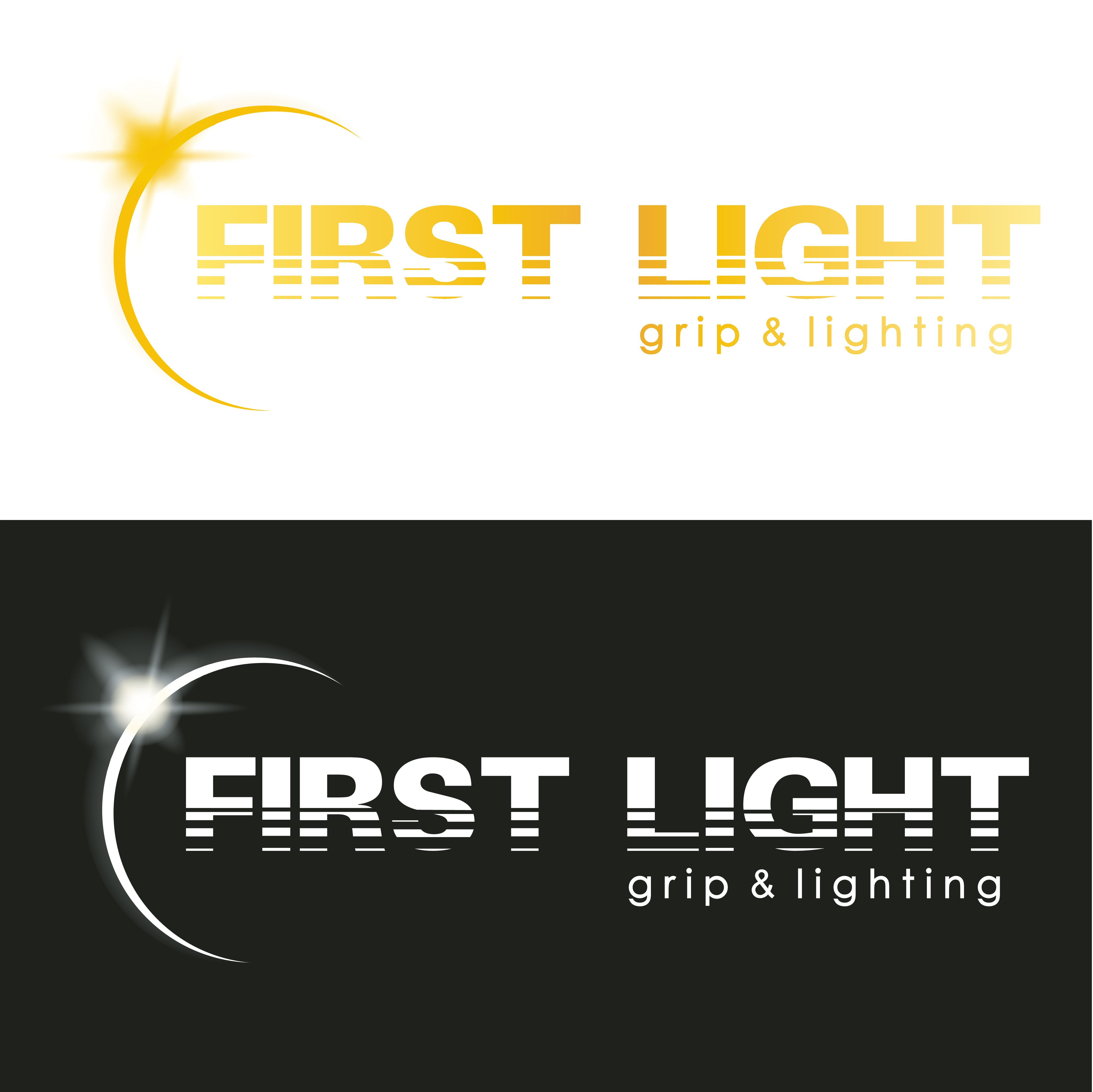 Create a logo for a lighting company in the film industry
