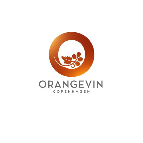 Orangevin Wine Shop Logo