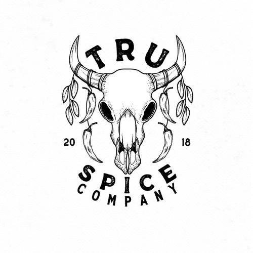 Tru Spice Company Logo Design