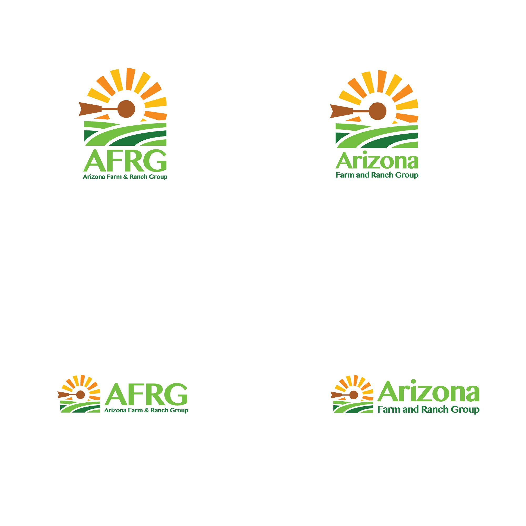 Simple, Clean and Classy Logo for AFRG