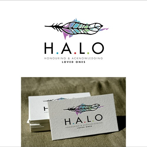 H.A.L.O. needs an impactful, soulful and memorable new logo with a feather as the symbol