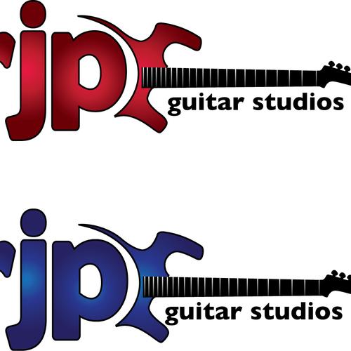 Logo for a Guitar Studio
