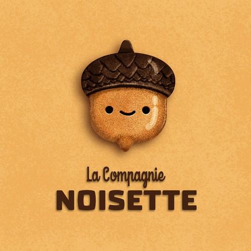 Logo design for La Compagnie Noisette