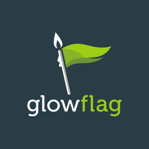Glowflag - Looking for a Modern, Clever/Vibrant Logo. Flat Design Please :-)