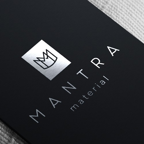 An elegant and sophisticated monogram logo design for new regenerative fashion brand