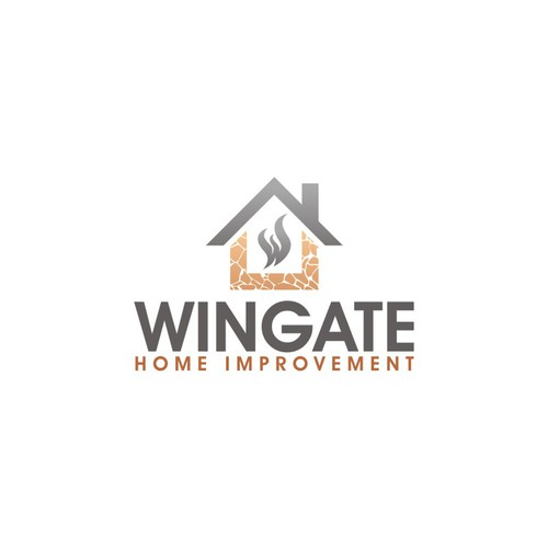 Creative logo for stonework and fireplace company