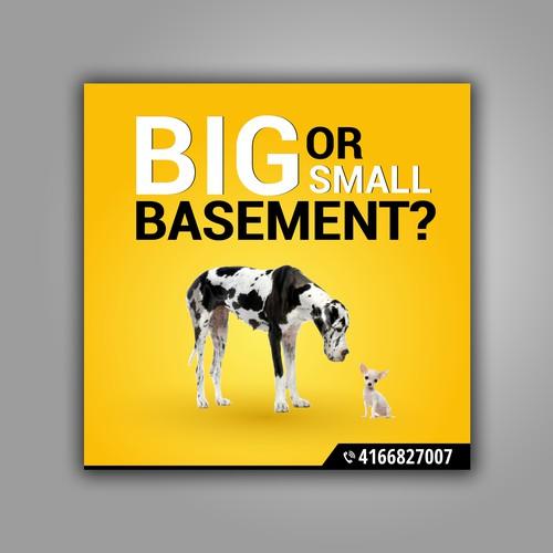 Big or Small Basement