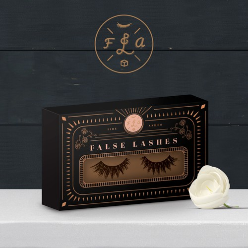 Box Design for False Lashes