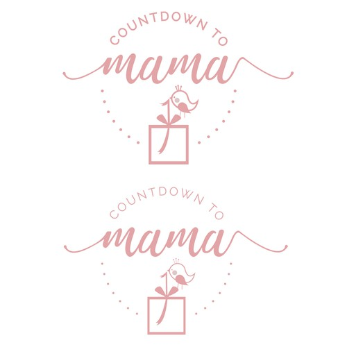 Logo design for Countdown to mama