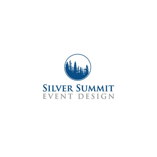 Design a logo for a re-branding from Silver Summit Weddings & Events to Silver Summit Event Design