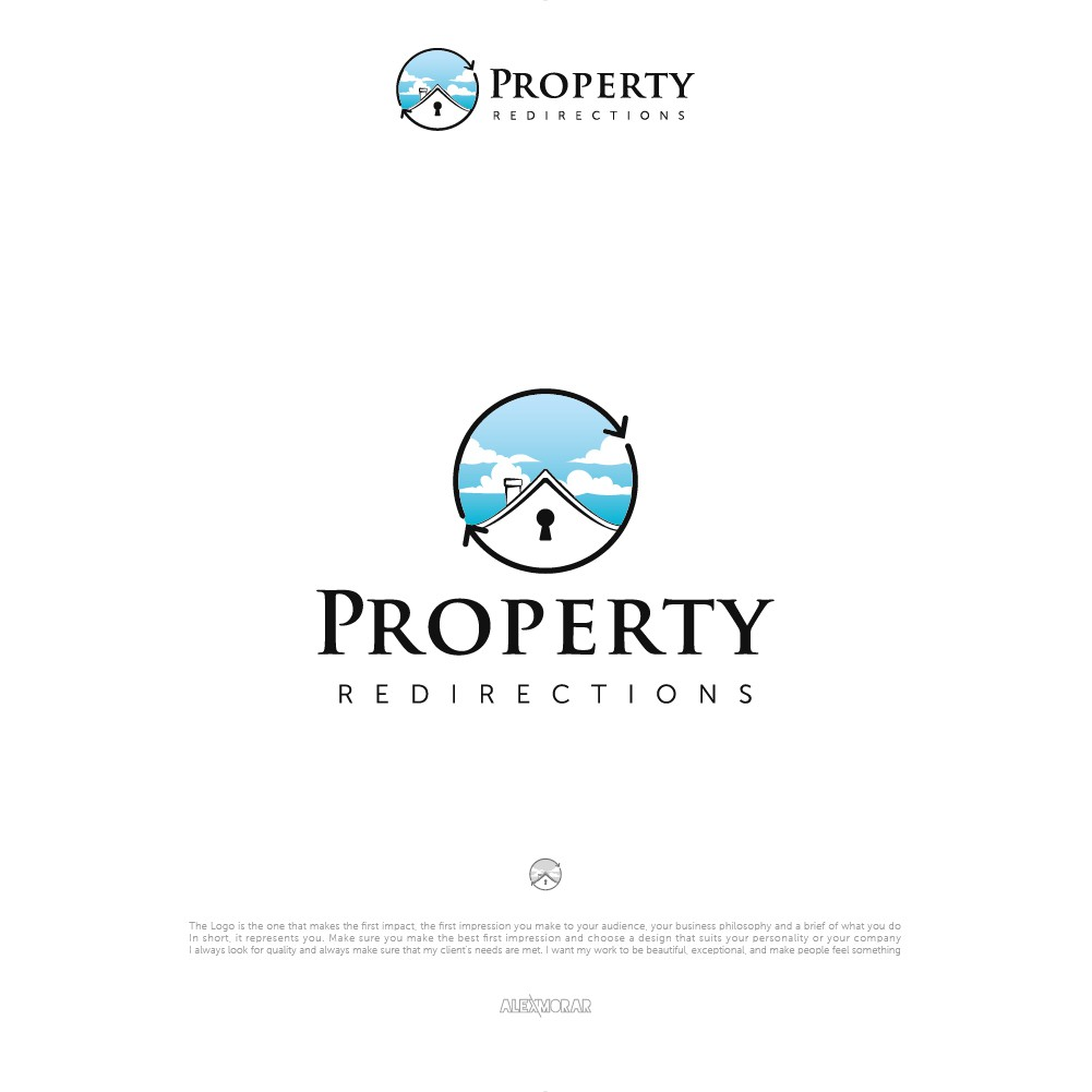 Real estate logo to appeal to people who own a property they would like to sell quickly.